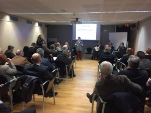 Inici de l'acte fundacional del Cercle de Salut a Barcelona
