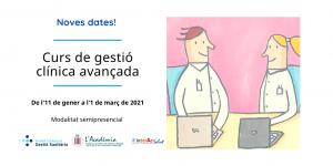 Noves dates curs de gestió clínica